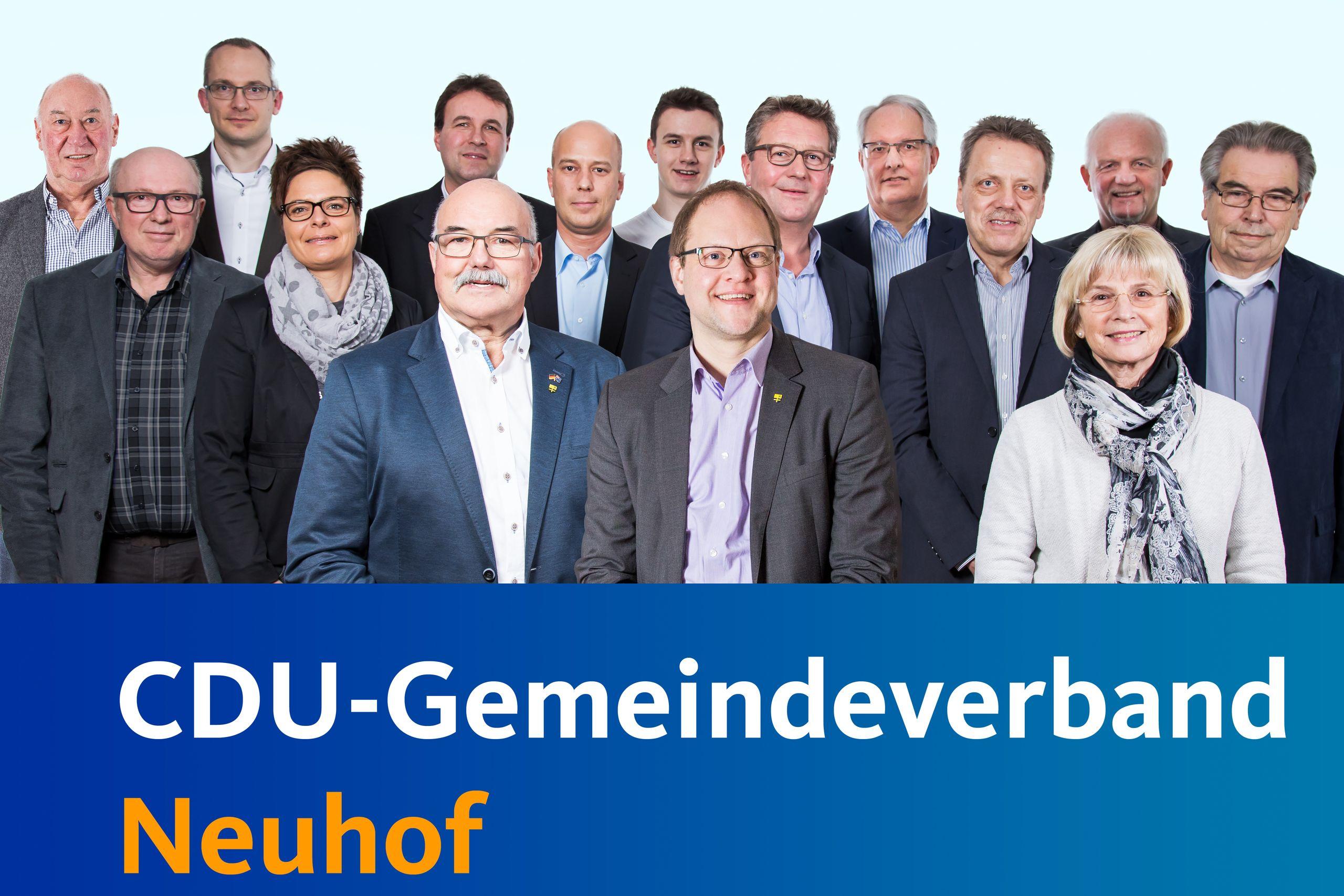 Neuhofer CDU - CDU-Vorstand einstimmig gewählt